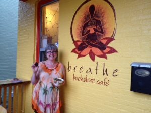Real Food and Good Times @ Breathe Bookstore Cafe