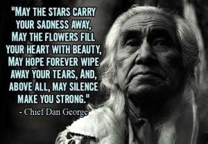 Chief Dan George SILENCE